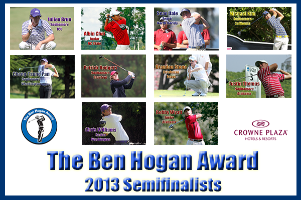 The Ben Hogan Award announces its 10 semifinalists